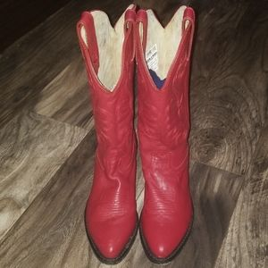 Durango red cowgirl boots size 6